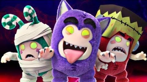Oddbods PARTY MONSTERS - Full Episode Halloween Cartoons For Kids-1