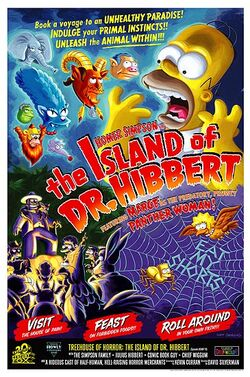 The Island of Dr. Hibbert poster