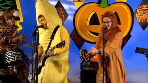 Shiny Toy Guns- House of Spooks On Yo Gabba Gabba