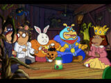 Arthur and the Haunted Treehouse