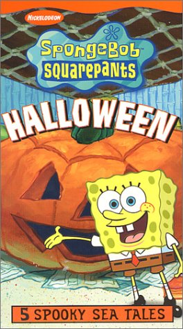 Image - SpongeBob Halloween VHS.jpg | Halloween Specials Wiki ...