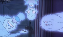 The Hitchhiking Ghosts are locking up the door