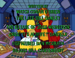 Treehouse of Horror Spooky names
