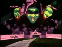 Doug, Skeeter, and the ghoul scare off Roger and his goons