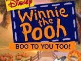 Boo to You Too!