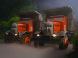 Max and Monty the Dump Truck Twins