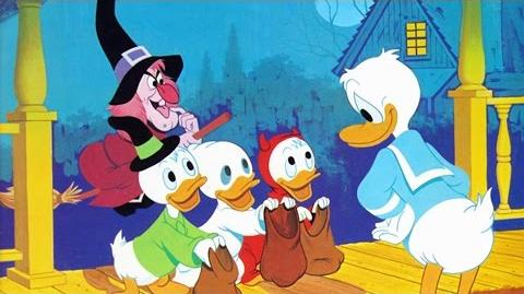 Trick or Treat (1952) – Vintage Halloween Disney Song