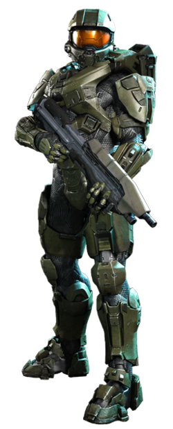 Master Chief in Halo 4