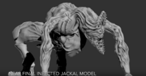 Near Final Infected Jackal Model