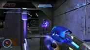 Plasma rifle firing