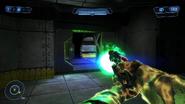 Plasma pistol charging