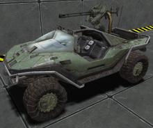 Chaingun Warthog