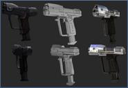 Pistol Evolution