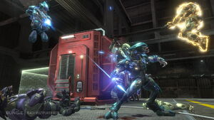 Halo- Reach Multiplayer Invasion