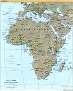 Africa fisica 2000