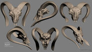 Halo Reach EG - Spadehorn skull
