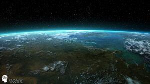 UNSC Planet Arcadia