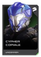 H5G REQ card Cypher Copiale-Casque