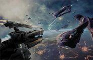 HM-Batalla Espacial