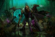 1000x677 3572 Halo wars Jackals 2d sci fi creatures picture image digital art