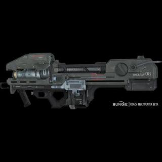 Eine Version des Spartan Lasers von Halo Reach