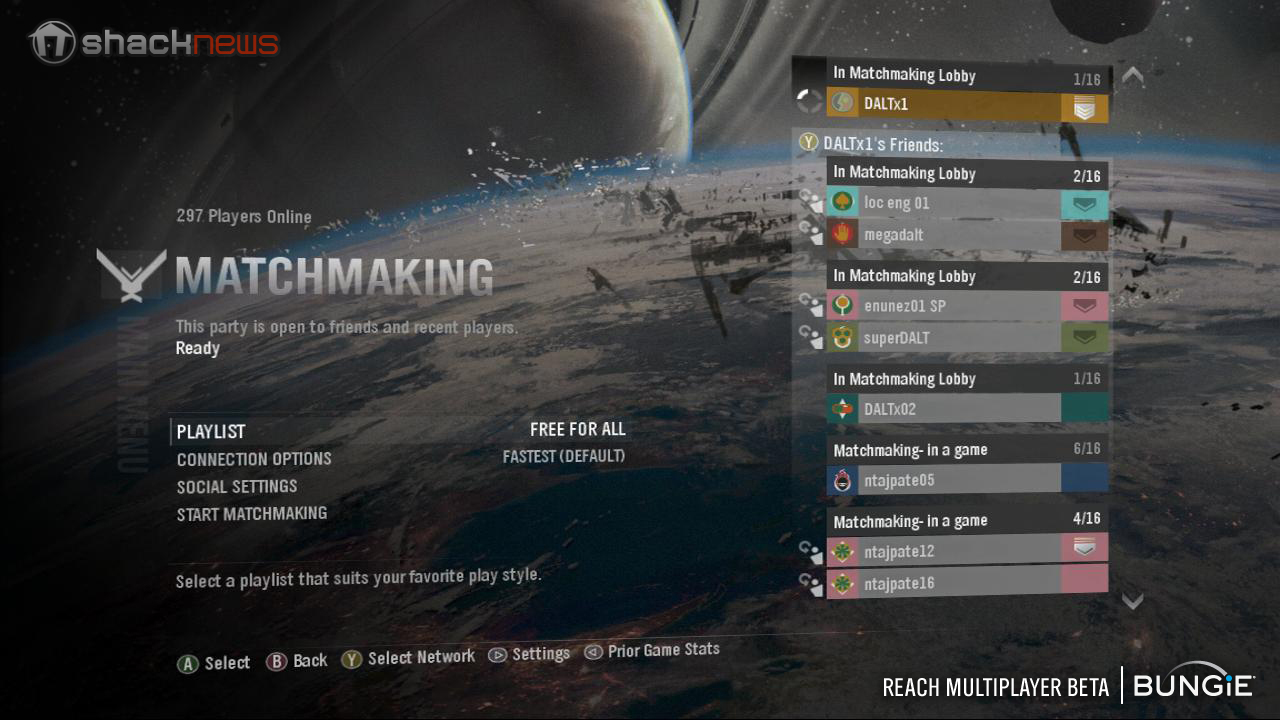 How to do matchmaking in halo 4