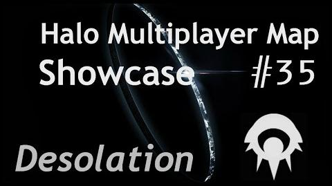Halo Multiplayer Maps - Halo 2 Desolation