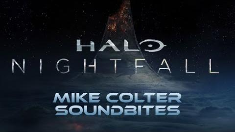 Halo Nightfall - Mike Colter Soundbites
