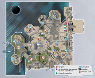 Arcadiacity map