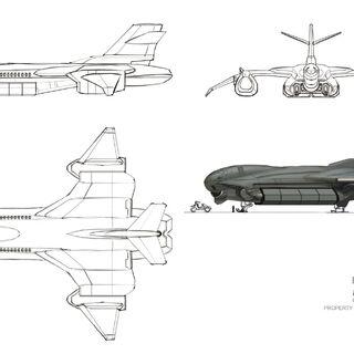 Konzeptzeichnungen des KIS-51