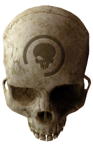 Cráneo Ojo Morado