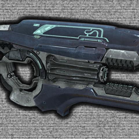 Eine Version des Typ-51 Plasmarepetierers, welche während der <a href=