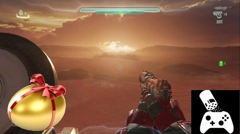 Easter egg on The Rig! - Halo 5-Sandworm easter egg video