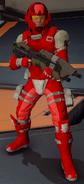Marine del Equipo Rojo H5G