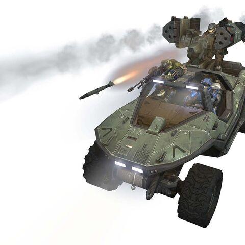 Eine 65mm Rakete, abgefeuert aus einem <a href=