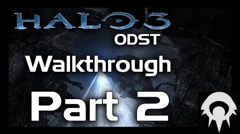 Halo 3 ODST Walkthrough - Part 2 - Uplift Reserve - No Commentary