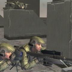 Due Marines tiratori scelti in Halo 2
