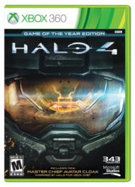 Halo 4 Game of the Year Cover