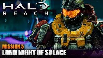 Halo Reach MCC PC - Walkthrough - Mission 5- LONG NIGHT OF SOLACE (Sub ITA)