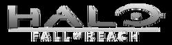 Halo Fall of Reach Comic Logo