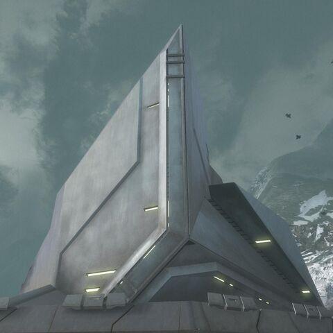Esterno della Sword Base