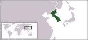 Locationmap Korea