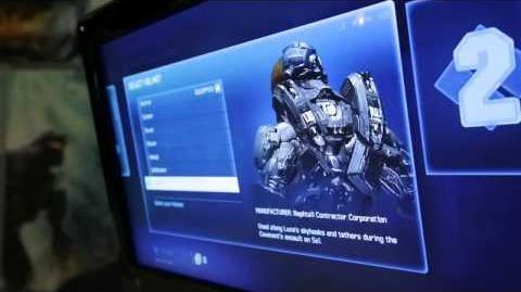 Halo 4 - Todas las Armaduras Confirmadas