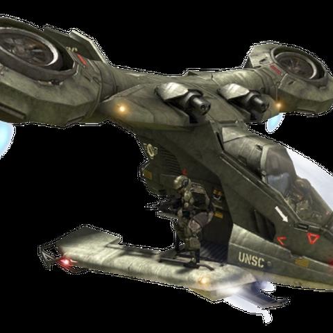 Hornet mit Besatzung.