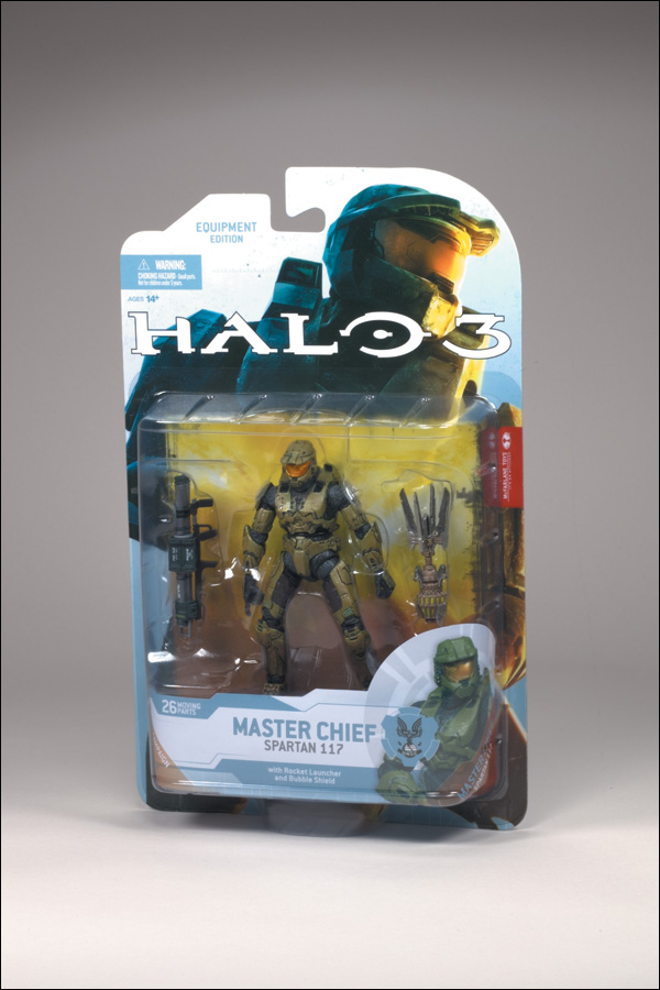 Halo 3 Master Chief Toys