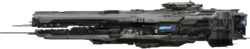 UNSC Strident-Klasse Fregatte Seite