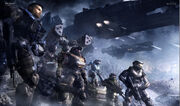Halo Reach Noble Team 1600x1200