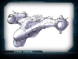 Strike fighter concept
