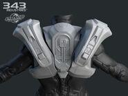 H4 Tracker torso back