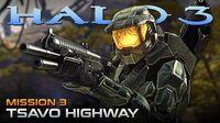 Halo 3 PC Walkthrough - Mission 3 TSAVO HIGHWAY (Sub ITA)